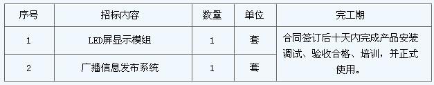 深圳第一劳动教管所采购LED屏组及信息发布系统