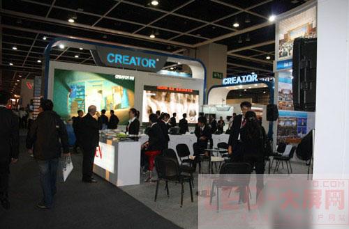 CREATOR快捷在InfoComm Asia 2010展倍受青睐