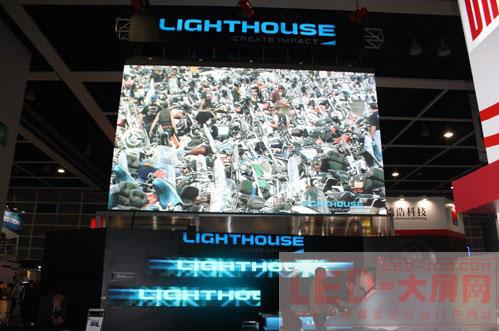 Lighthouse(兆光科技)震撼亮相InfoComm Asia 2010