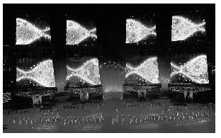 """广东省科技厅:""""亚运之舟""""风帆全是LED屏"""