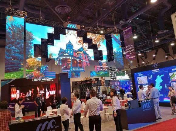 2018美国infocomm展MINI LED引关注