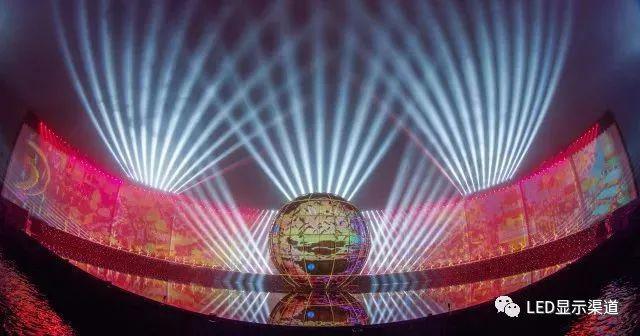 LED球形屏再展国风,惊艳世界