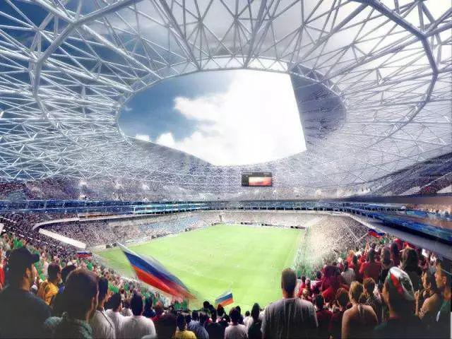 世界杯赛场处处闪耀国星光电显示屏!