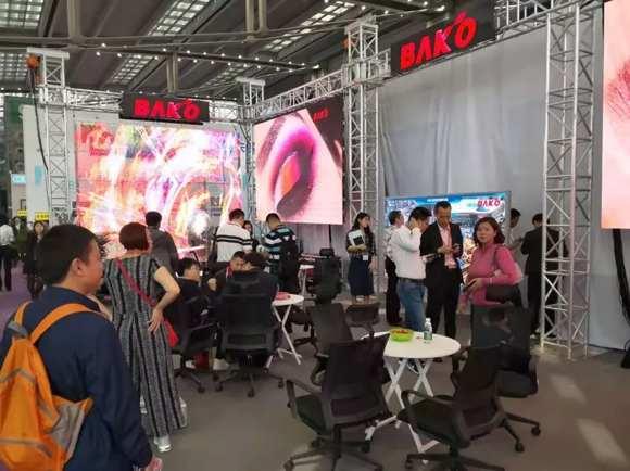 小间距火爆促销进行中  巴科光电耀目亮相深圳国际 LED 展