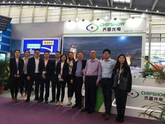 2019年深圳国际LED展,齐普光电获客户高度认可