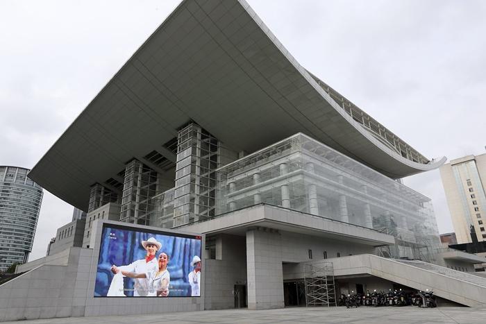 上海大剧院下周四与市民见面 大修后更人性化