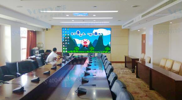 P16显示屏助力潍坊智能化会议稳定运行