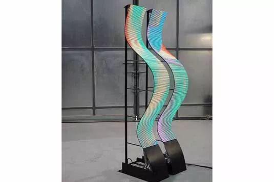 异形屏成LED显示屏发展的新趋势